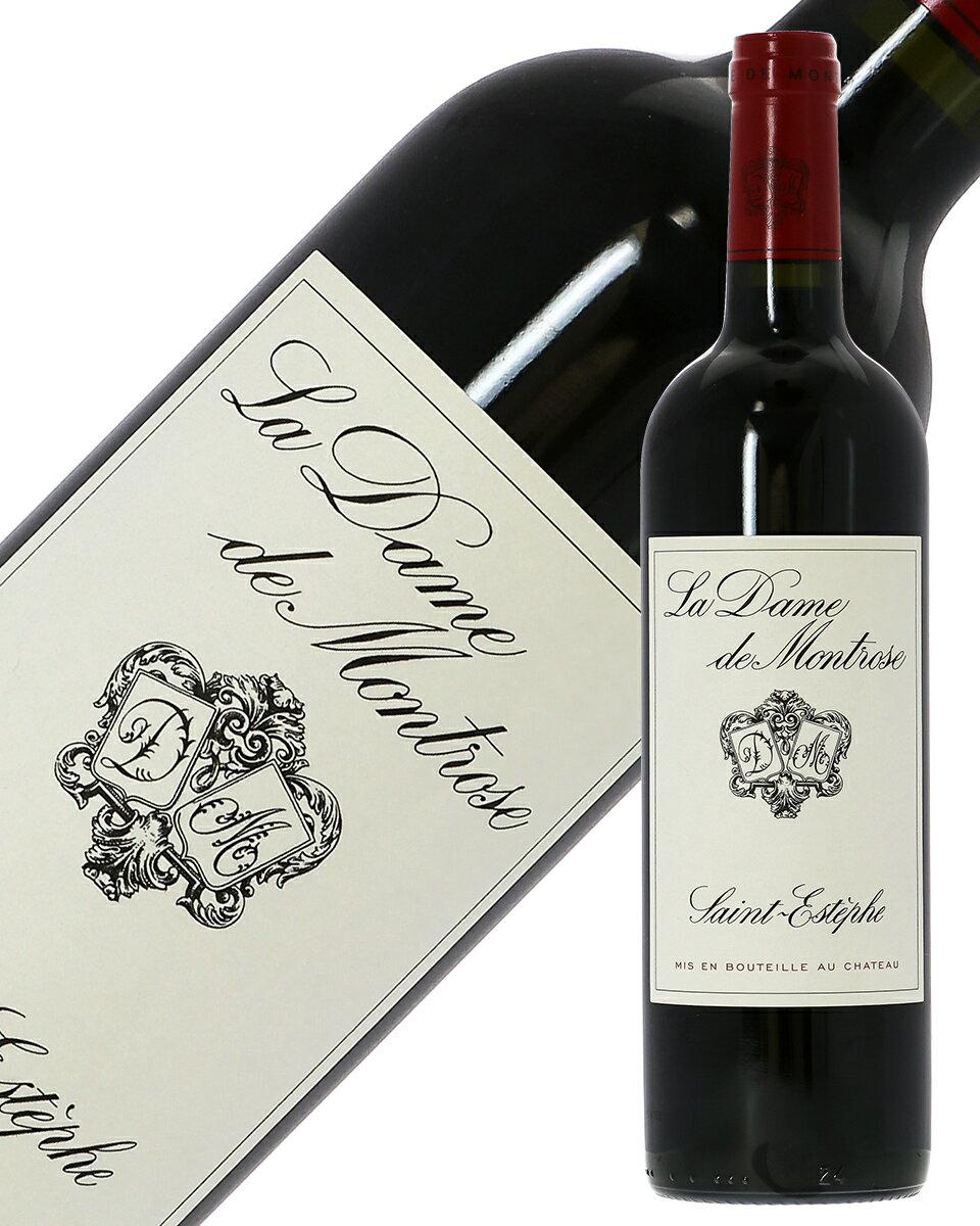格付け第2級セカンド ラ ダム(ダーム) ド モンローズ 2015 750ml 赤ワイン フランス