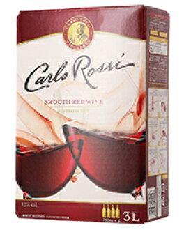 卡洛罗西(卡洛罗西)加利福尼亚红(箱葡萄酒)3000ml(把1到8个打包)红葡萄酒西浓运输发货不可能