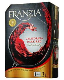 【あす楽】【包装不可】 フランジア ワインタップ ダークレッド(ボックスワイン) 3000ml(3L)赤ワイン