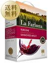 【送料無料】【包装不可】 ラ ファルーナ メルロー サンジョヴェーゼ (ボックスワイン) 3000ml×4本 赤ワイン
