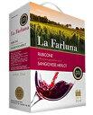 【包装不可】【ラ ファルーナ赤&白4個で送料無料】 ラ ファルーナ メルロー サンジョヴェーゼ (ボックスワイン) 3000ml 赤ワイン
