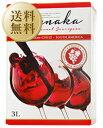 【送料無料】【包装不可】 ルナカ カベルネ ソーヴィニヨン (ボックスワイン) 3000ml×4本 赤ワイン