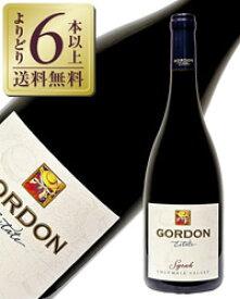 【よりどり6本以上送料無料】 ゴードン エステート シラー 2013 750ml アメリカ 赤ワイン