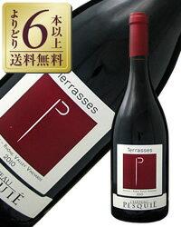 【あす楽】【よりどり6本以上送料無料】 シャトー ぺスキエ キュベ テラッセ 2014 750ml 赤ワイン フランス