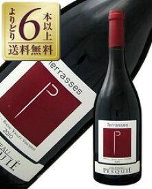 【あす楽】【よりどり6本以上送料無料】 シャトー ペスキエ テラス ルージュ 2017 750ml 赤ワイン フランス