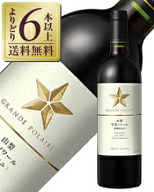 【よりどり6本以上送料無料】 グランポレール 山梨甲斐ノワール 特別仕込み 2016 750ml 赤ワイン 日本
