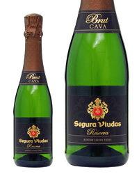 【あす楽】 セグラヴューダス ブルート レゼルバ ハーフ 375ml スペイン スパークリングワイン