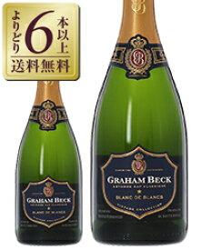 【よりどり6本以上送料無料】 NIKKEIプラス1 何でもランキング 第1位 グラハム ベック ブリュット ブラン ド ブラン 2014 750ml 南アフリカ スパークリングワイン