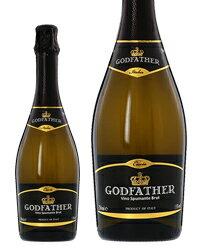 ゴッド ファーザー(ゴッドファーザー) ヴィーノ スプマンテ ブリュット 750ml スパークリングワイン イタリア あす楽