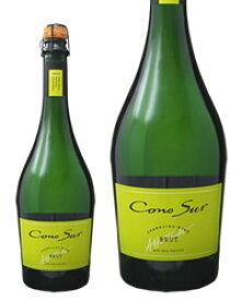 【あす楽】【同一商品12本購入で送料無料】 コノスル スパークリング ブリュット 750ml チリ スパークリングワイン
