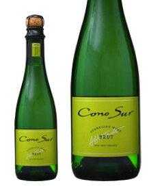 【同一商品12本購入で送料無料】 コノスル スパークリング ブリュット ハーフ 375ml チリ スパークリングワイン