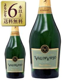 【あす楽】【よりどり6本以上送料無料】 バルディビエソ エクストラ ブリュット 750ml チリ スパークリングワイン