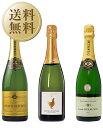 【送料無料】【包装不可】 シャンパン初心者から愛好家まで大満足!専門店イチオシ!ハイコスパシャンパン3本セット 750ml×3 シャンパン ワイン セット