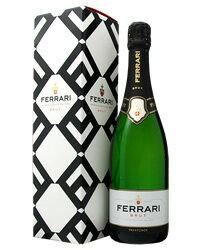 【あす楽】 フェッラーリ(フェラーリ) ブリュット 箱付 750ml スパークリングワイン イタリア
