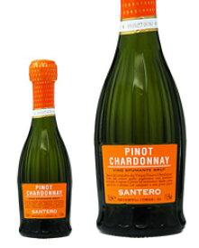 【あす楽】 サンテロ ピノ シャルドネ スプマンテ ピッコロサイズ 200ml イタリア スパークリングワイン