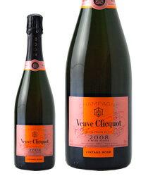 ヴーヴ クリコ(ヴーヴ・クリコ)(ヴーヴクリコ)(ブーブクリコ) ロゼ ヴィンテージ 2008 正規 750ml シャンパン シャンパーニュ フランス あす楽