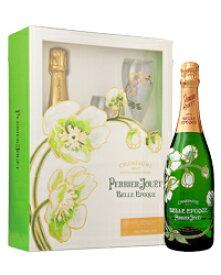 【包装不可】 ペリエ ジュエ(ペリエ・ジュエ) キュヴェ(キュベ) ベル エポック(ベル・エポック) 2011 箱付 グラスセット 750ml 並行 シャンパン シャンパーニュシャンパン Champagne フランス