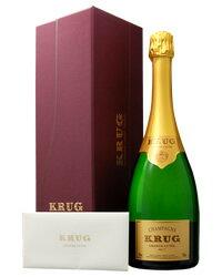 【あす楽】【アウトレット商品:ラベル、キャップ、ビン傷あり】 クリュッグ グランド キュヴェ 箱付 750ml 並行 シャンパン シャンパーニュ フランス