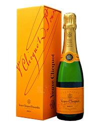 ヴーヴ クリコ ポンサルダン(ヴーヴ・クリコ)(ヴーヴクリコ)(ブーブクリコ) イエローラベル ブリュット ハーフ スライドボックス 375ml 正規 シャンパン シャンパーニュVeuve フランス