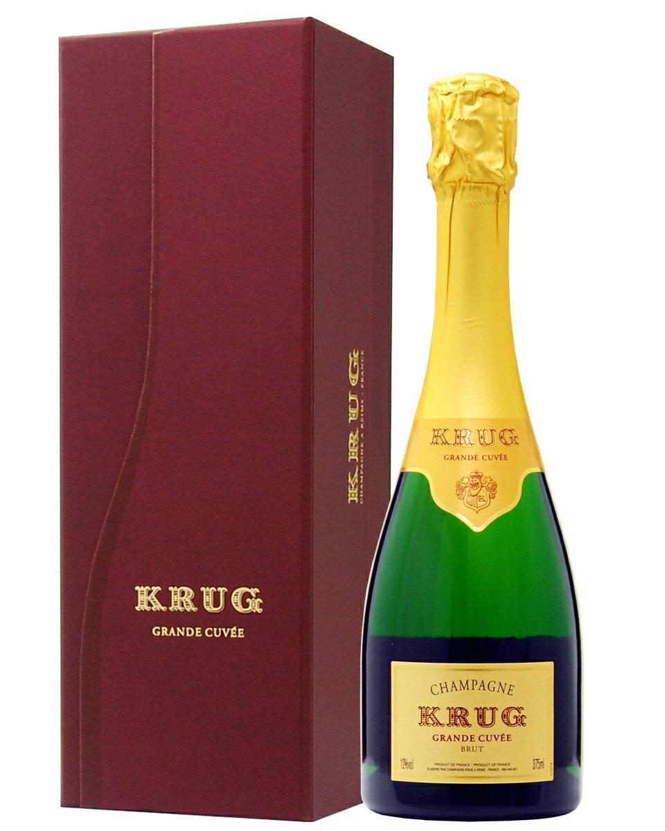 【正規】【あす楽】クリュッグ グランド キュヴェ ハーフ 箱付 375ml シャンパン シャンパーニュ フランス
