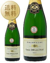 【あす楽】【今月の送料無料ワイン】 ルイ デローネイ(デロメイ) ブリュット 750ml シャンパン シャンパーニュ フランス
