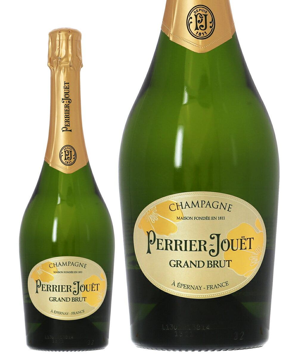 【あす楽】 ペリエ ジュエ(ペリエ・ジュエ) グラン ブリュット(グラン・ブリュット) 750ml 並行 シャンパン シャンパーニュ フランス