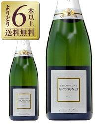 【よりどり6本以上送料無料】 グロンニェ ブラン ド ノワール 750ml RMシャンパン シャンパン シャンパーニュ フランス