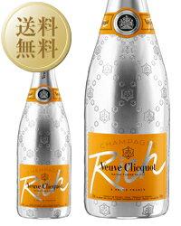 【あす楽】【送料無料】 ヴーヴ クリコ(ヴーヴ・クリコ)(ヴーヴクリコ)(ブーブクリコ) リッチ 750ml 並行 シャンパン シャンパーニュ フランス