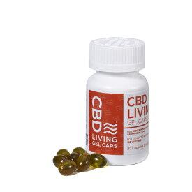 【20%OFFクーポン有】CBD ジェルカプセル 30個入り 150mg 5mg/個 CBD LIVING CBDリビング エディブル サプリメント リラックス 健康 美容 睡眠 ギフト オイル
