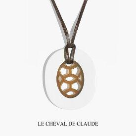 【OUTLET】 LE CHEVAL DE CLAUDE クロード元町 BIJOUX H バッファローホーンペンダントL