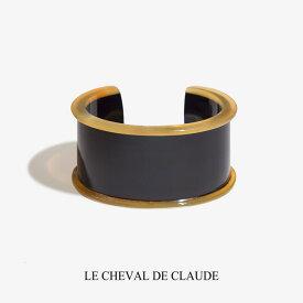 【OUTLET】 LE CHEVAL DE CLAUDE クロード元町 BIJOUX NATURE バッファロー ブレスレット / バングル