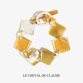 LE CHEVAL DE CLAUDE クロード元町 BIJOUX NATURE バッファロー ブレスレット / バングル