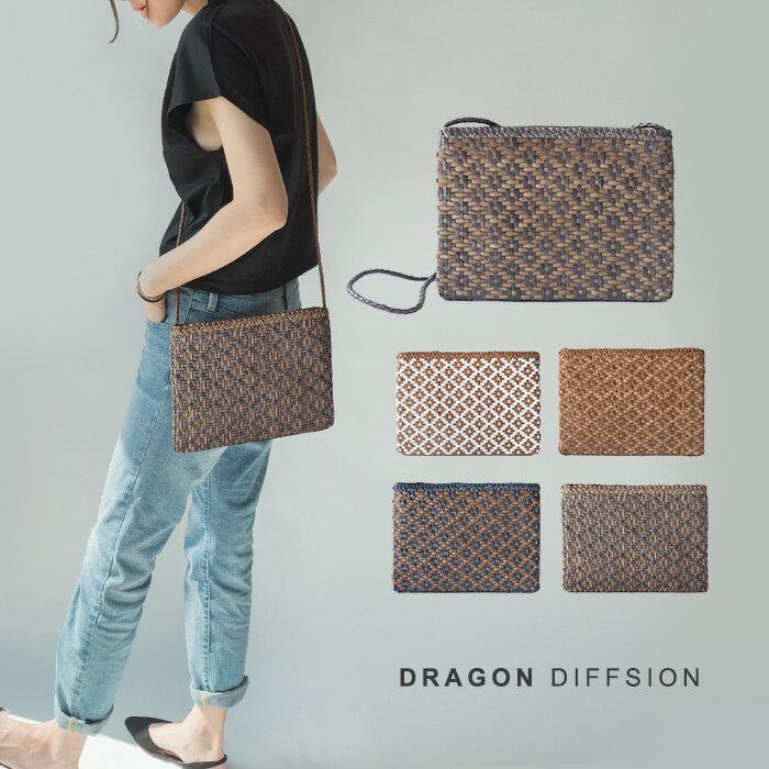 【別注】ドラゴン ディフュージョン Dragon diffusion レディース 本革 メッシュ かご トート ショルダー バッグ / ポシェット(ヘレンカミンスキー好きな方も)