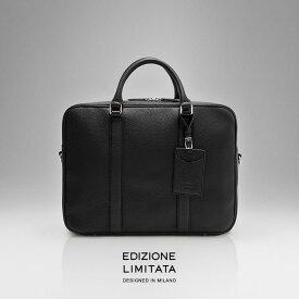 セ)\クーポンで30%OFF★3日間限定/ブリーフケース 本革 EDIZIONE LIMITATA No.01 briefcase メンズ バッグ イタリアンレザー製