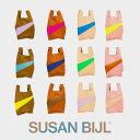 【クーポンで20%OFF★4日間限定】SUSAN BIJL (スーザン ベル) Process バッグM ショッピングバッグ エコバッグ
