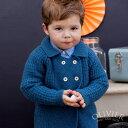 \週末72時間★表示価格より70%OFF/英国王室御用達 カシミア 手編み ピーコート Olivier Baby&Kids オリビアベビー Cashmere P...