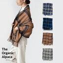 【クーポンで¥13,080★お買い物マラソン】The Organic Alpaca NEW YORK ny_check オーガニック アルパカ100% ポケッ…