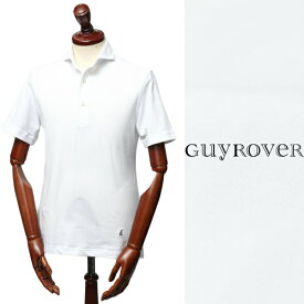 GUY ROVER /ギ ローバー / 鹿の子 カッタウェイ ポロシャツ / ホワイト【送料無料】 pc234j-white 100
