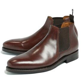 JALAN SRIWIJAYA / ジャラン スリウァヤ /ダイナイトソール デュプイカーフ ショート サイドゴアブーツ シューズ 革靴 98411 / ブラウン js98411-br 100