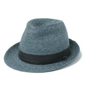 HELEN KAMINSKI / ヘレンカミスキー / カミンスキーXY VALDES ラフィア パナマ ハット 中折れ帽子 / ブルー COSTA-GRAMI 70 18615135-bu 100