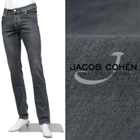 JACOB COHEN/ヤコブ コーエン/ PW622 SLIM COMF グレー ストレッチデニム パンツ / グレー / 62525-gy 100