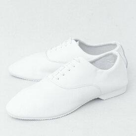 CROWN / クラウン / OXFORD / ホールカット / レザー / ジャズシューズ / 革靴 / ホワイト oxford-w 100