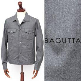 Bagutta / バグッタ / ウール / Gシャツ / ブルゾン / チャコールグレー clintgl-gy 100
