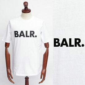 ボーラー / BALR / BRAND SHIRT / ロゴ / Tシャツ / ホワイト × ブラック 126050259-wbl 100