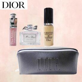 ディオール Dior リップグロス グロウ オードトワレ3点+ブラックポーチ プレゼント ギフトセット 「大切な人への素敵なプレゼント」