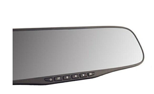 DX-MR30 TOHO ドライブレコーダー 2.8インチ液晶で録画データをその場で確認 ミラー取り付けタイプ