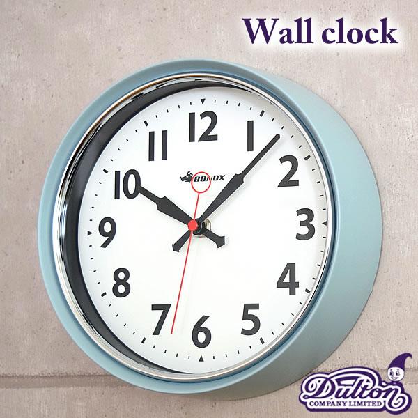 掛け時計 DULTON ダルトン Wall clock 壁掛け時計 時間 スイープムーブメント 掛け時計 クロック ウォールクロック インテリア デザインクロック お洒落 楽天 240147