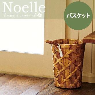 篮球诺埃尔或者篮球索尔kuzukago垃圾箱天然收藏筐子乐天240147