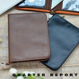 クォーターリポート QUARTER REPORT マルチケース スキャット 母子手帳ケース カードケース 旅行 パスポートケース レシートケース 通帳ケース ギフト 日本製 パスポート 通帳 ファスナー 母子手帳 合皮 おしゃれ