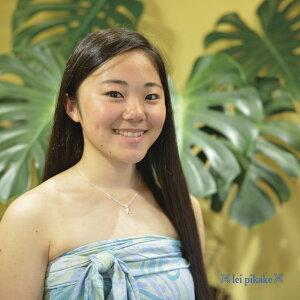 ハワイアンジュエリーレイピカケレイピカケシルバー925ネックレスミニイニシャルペンダントペアネックレスプレゼントラッピングレディース